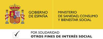 Logo del Ministerio de Sanidad, Consumo y Bienestar Social